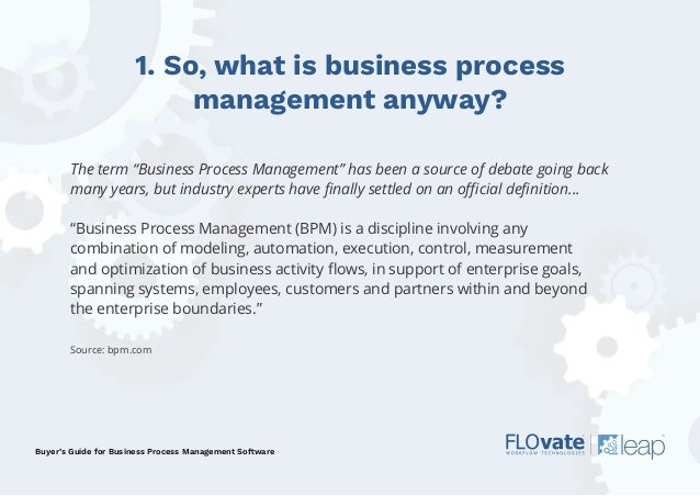 Buyer's Guide to BPM & Workflow Software - Flovate Slide 2