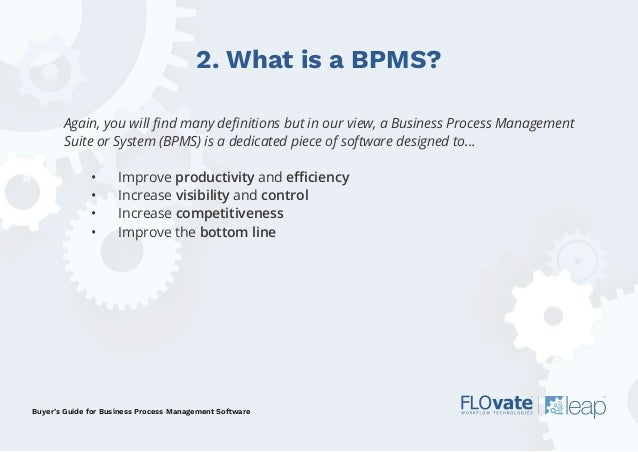 Buyer's Guide to BPM & Workflow Software - Flovate Slide 3