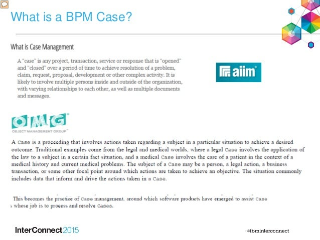 What is a BPM Case?