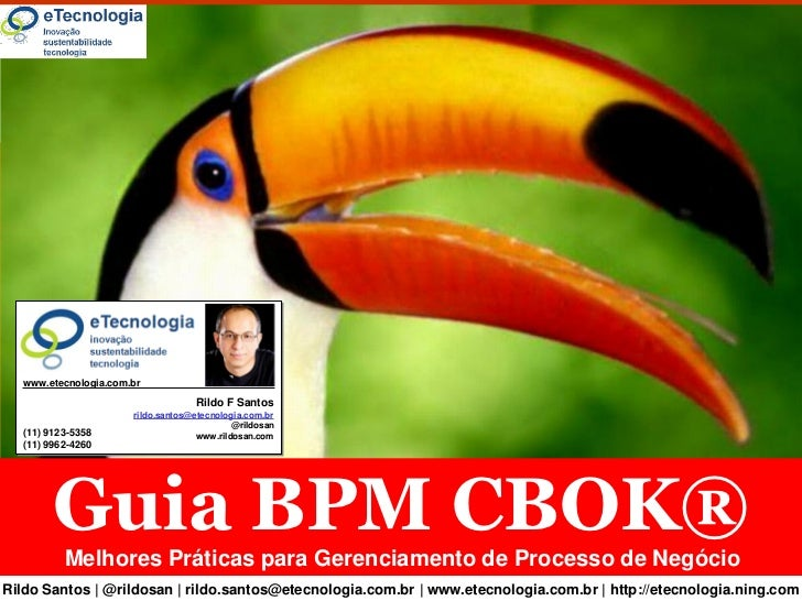 Guia BPM CBOK®        www.etecnologia.com.br                                         Rildo F Santos                       ...