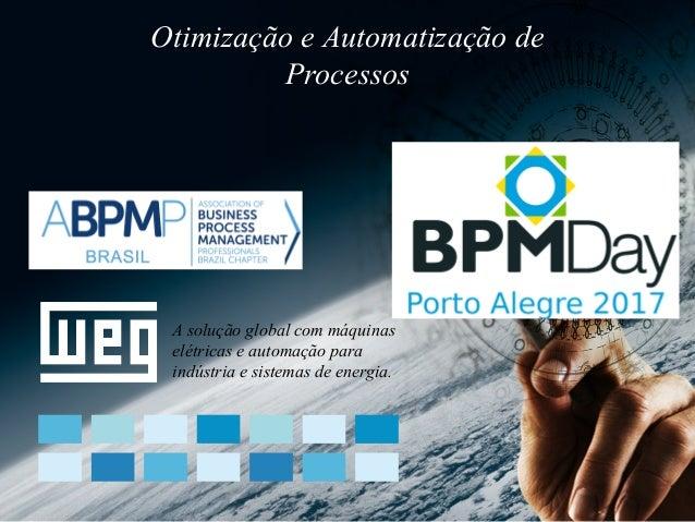 A solução global com máquinas elétricas e automação para indústria e sistemas de energia. Otimização e Automatização de Pr...
