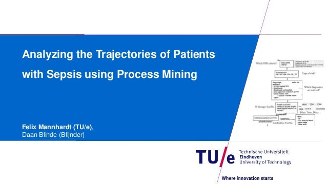 Analyzing the Trajectories of Patients with Sepsis using Process Mining Felix Mannhardt (TU/e), Daan Blinde (Blijnder)