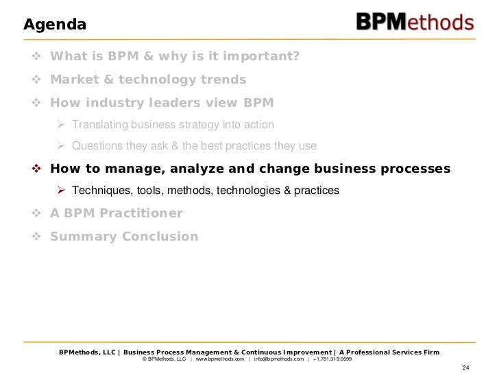 Strategy & Business Process Management