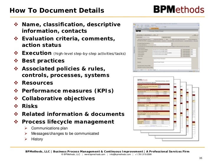 Process documentation examples kubreforic strategy business process management friedricerecipe Images