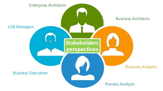 Business Executives LOB Managers Enterprise Architects Business Architects Process Analysts Business Analysts Stakeholders...