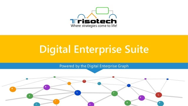 Digital Enterprise Suite Where strategies come to life! Powered by the Digital Enterprise Graph