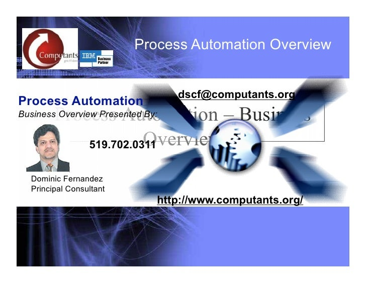 Process Automation Overview                           Process Automation Overview                                       ds...