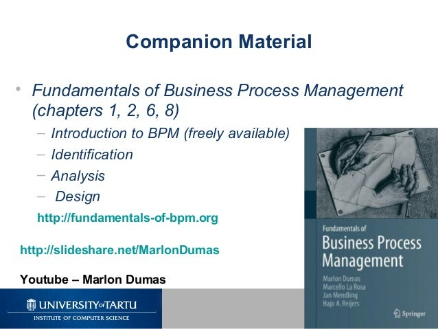 fundamentals of business process management pdf free