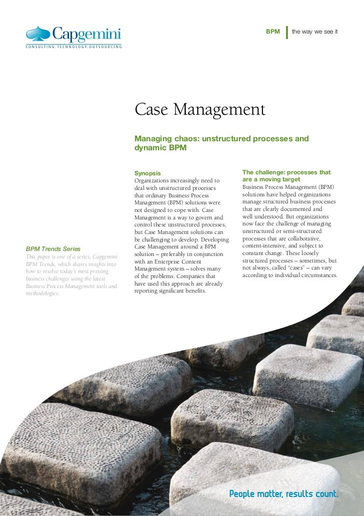 BPM       the way we see it                                           Case Management                                     ...