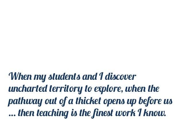 Appreciatively growing reflective teachers Slide 3