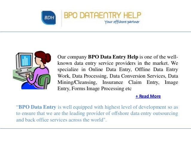 data entry service business plan