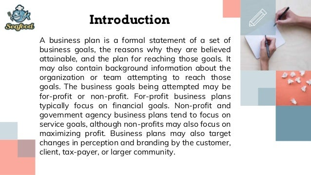 Introduction to a restaurant business plan definition of the word thesis