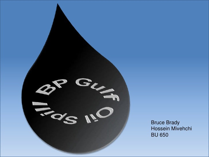 bp oil ethical issues Watch video the oil that leaked was a light crude that degrades and dissolves more quickly than the heavy oil that, for example, washed ashore in.