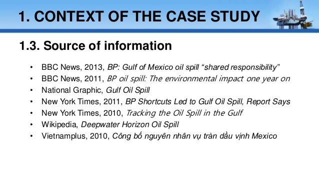 PR Response to the BP Oil Spill - The Worldcom Group