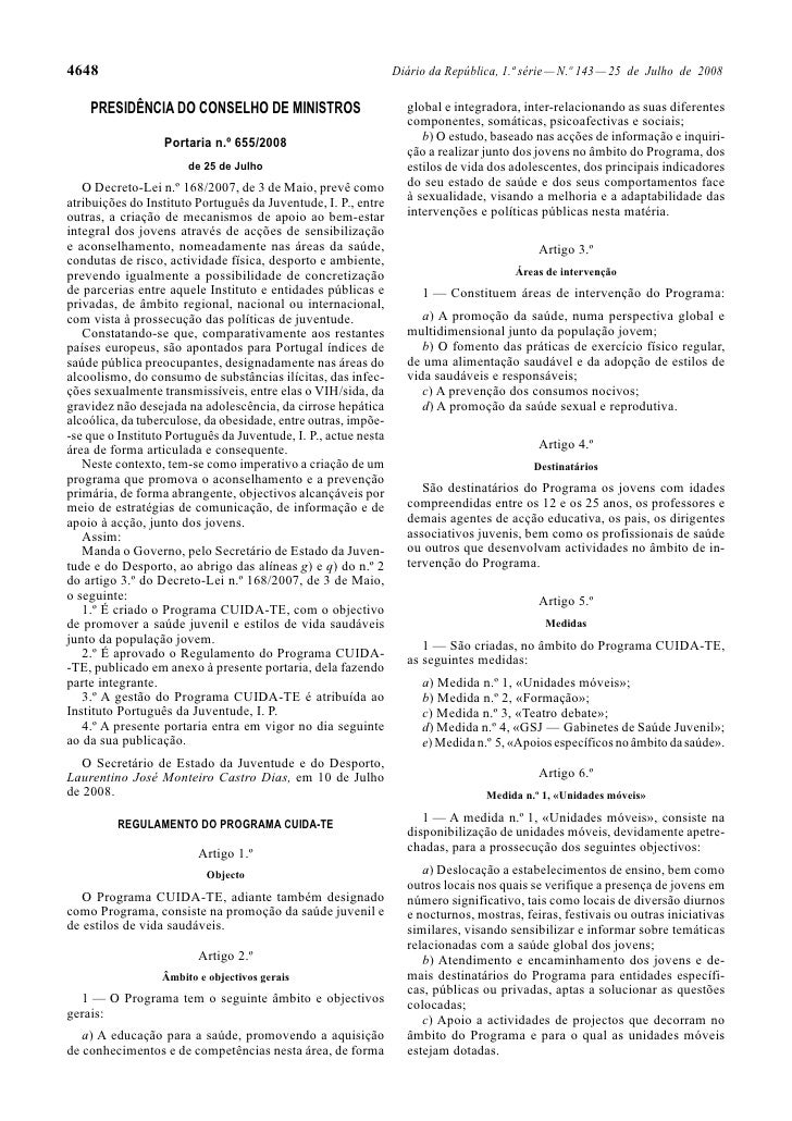 4648                                                             Diário da República, 1.ª série — N.º 143 — 25 de Julho de...