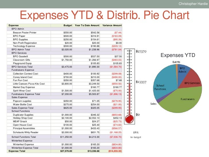 BPO Sample Treasurers Report