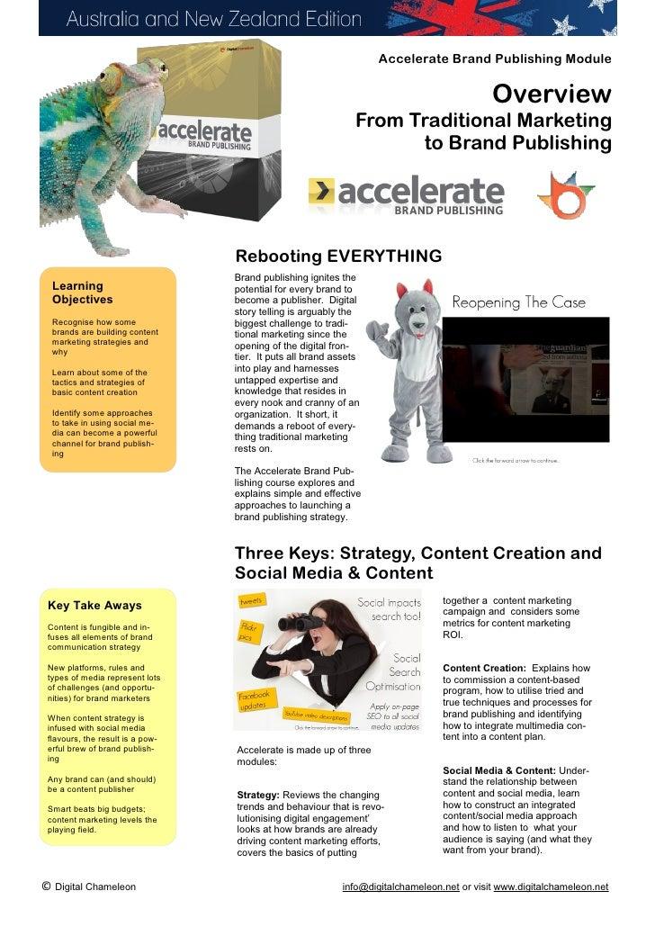 Accelerate Brand Publishing Module                                                                                        ...
