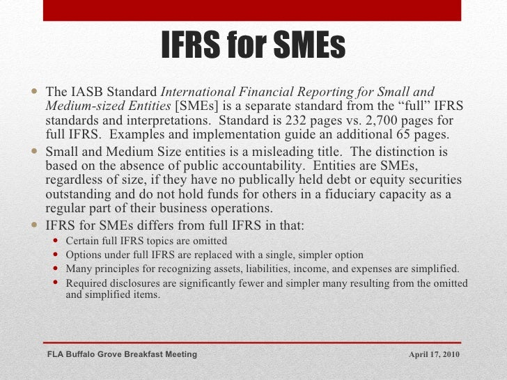 international financial reporting standards essay Organizations around the world are continuously recording data and reporting financial information to the used for many purposes by the respective users.