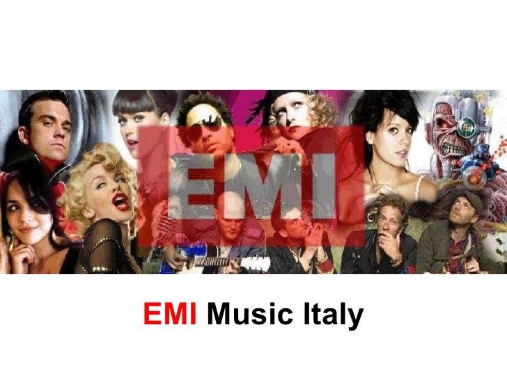 EMI  Music Italy