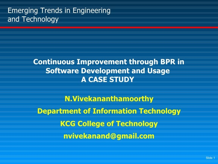 bpr case study Dr thanikaivelan veeraraghavan, phd july 25, 2016 case study: uniseal sounsecure™ hybrid body panel reinforcement (bpr) and reduction of.