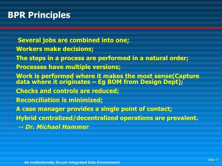 Case Studies for Business Reengineering