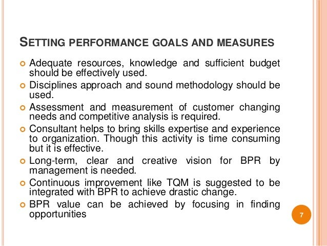 success and failure factors of bpr The success factors significantly related to accomplishing bpr project targets may be considered necessary but not necessarily sufficient for bpr success these success factors may lead to an operational definition of success, without necessarily leading to competitive advantages or improvement in company performance.