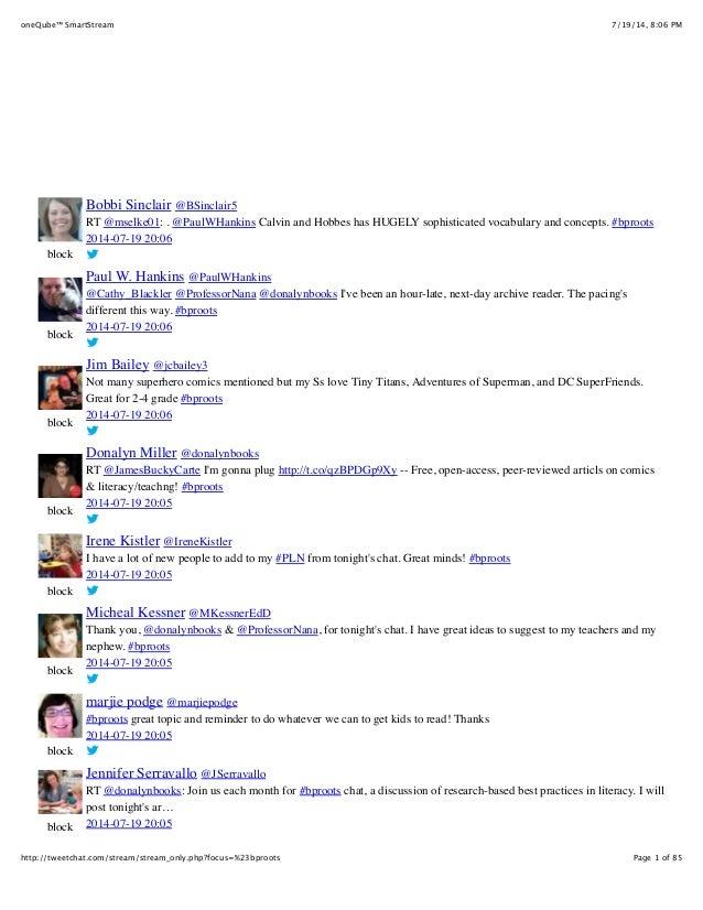 7/19/14, 8:06 PMoneQube™ SmartStream Page 1 of 85http://tweetchat.com/stream/stream_only.php?focus=%23bproots block block ...