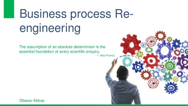 business process engineering Business process engineering is the process of analyzing the goals and mission of a business, examining the processes used to.