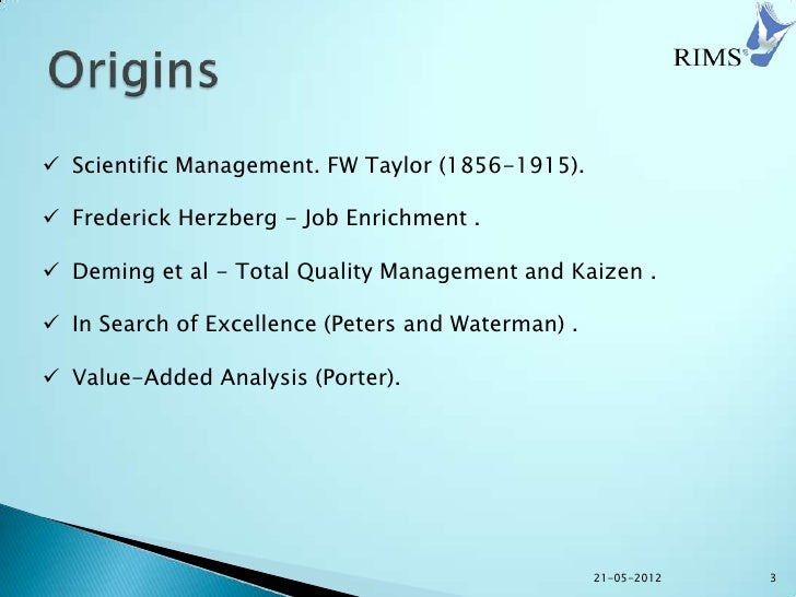 a literary analysis of reengineering management by james champy The reengineering revolution in reengineering management, champy the re-engineering movement promoted by michael hammer and james champy the.