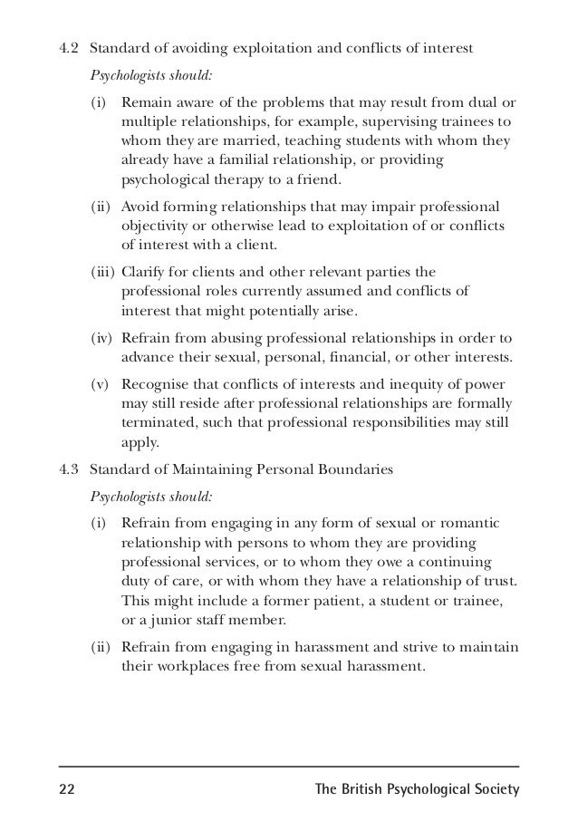 psychology code of ethics pdf