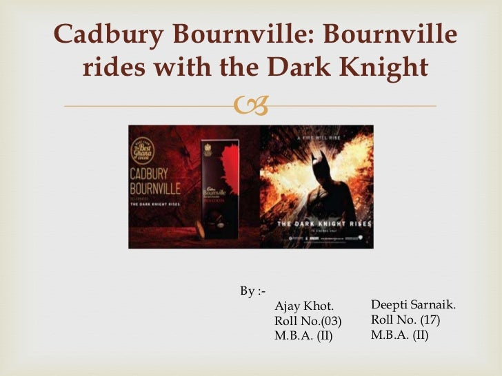 Cadbury Bournville: Bournville rides with the Dark Knight Slide 2