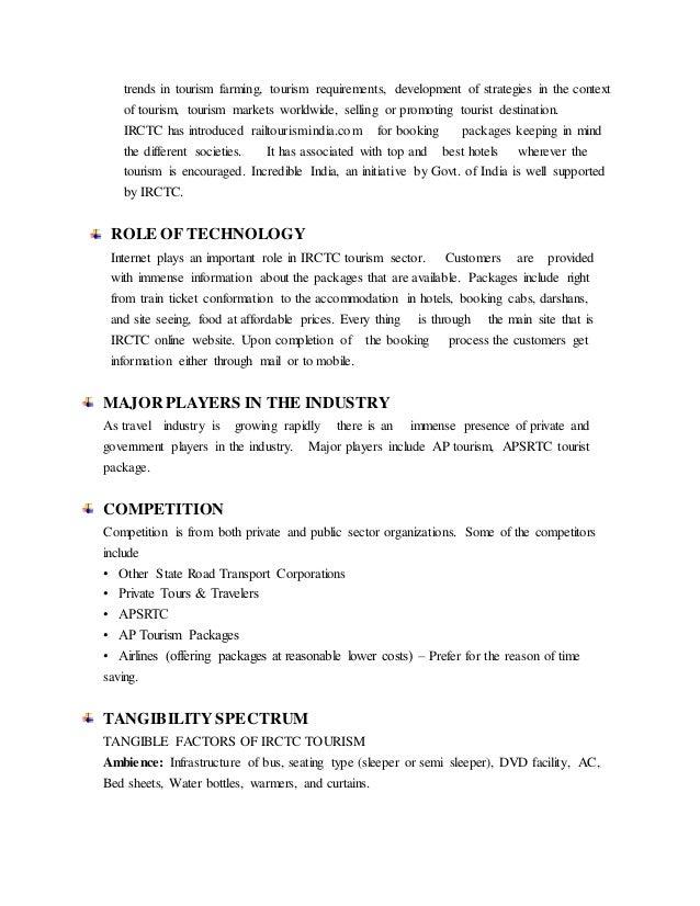 irctc tourism essay competition