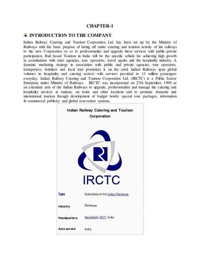 analysis of irctc Do you have an indian railways waitlisted ticket there are a few easy ways of finding out whether it's likely to be confirmed.