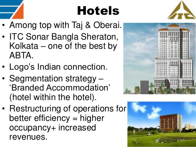itc sonar kolkata s marketing strategy Classification of hotel ▫ perceptual brand mapping ▫ itc hotel ▫ strategies   business private dining facilities  mid range services : 3 to 4 star hotels.