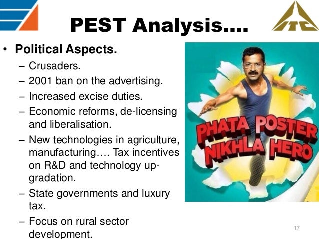 pest analysis of itc group of hotels Step 6 - pestel, pest / step analysis of itc hotels: designing responsible luxury another way of understanding the external environment of the firm in itc hotels: designing responsible luxury is to do a pestel - political, economic, social, technological, environmental & legal analysis of the environment the firm operates in.