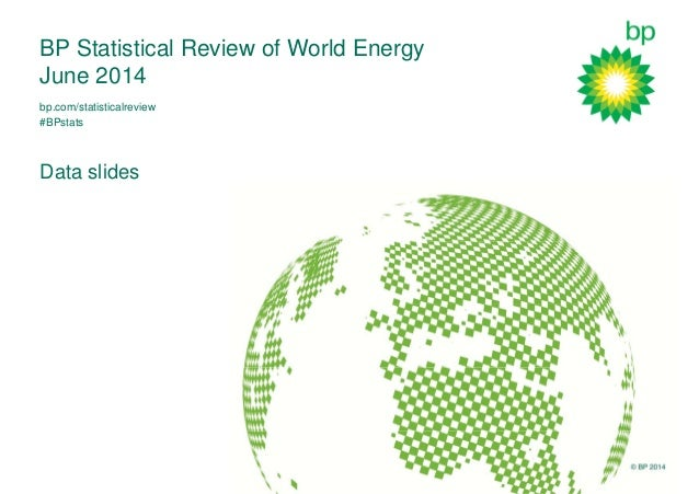 © BP 2014 BP Statistical Review of World Energy June 2014 Data slides bp.com/statisticalreview #BPstats
