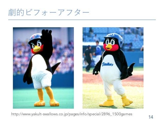 劇的ビフォーアフター 14 http://www.yakult-swallows.co.jp/pages/info/special/2896_1500games
