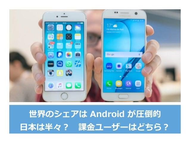 分断化を許容する。 iOS10 デバイスは、そんなに多く無い 78
