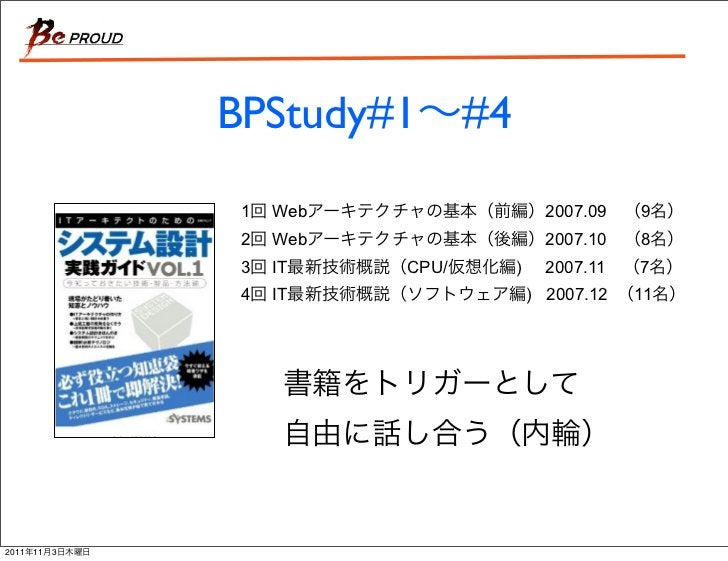 BPStudy#1 #4                1   Web                2007.09   9                2   Web                2007.10   8          ...