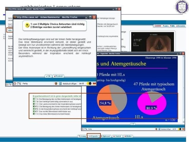 eLearning – Fortbildung für die tierärztliche Praxis? 25 Ehlers und Wagels, BpT-Kongress 2008, Hannover webbasiertes Lerns...