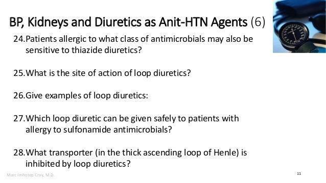 Bp The Kidneys And Diuretics As Anti Hypertensive Agents Rapid Rev