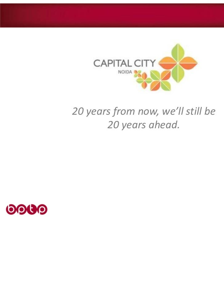 20 years from now, we'll still be       20 years ahead.