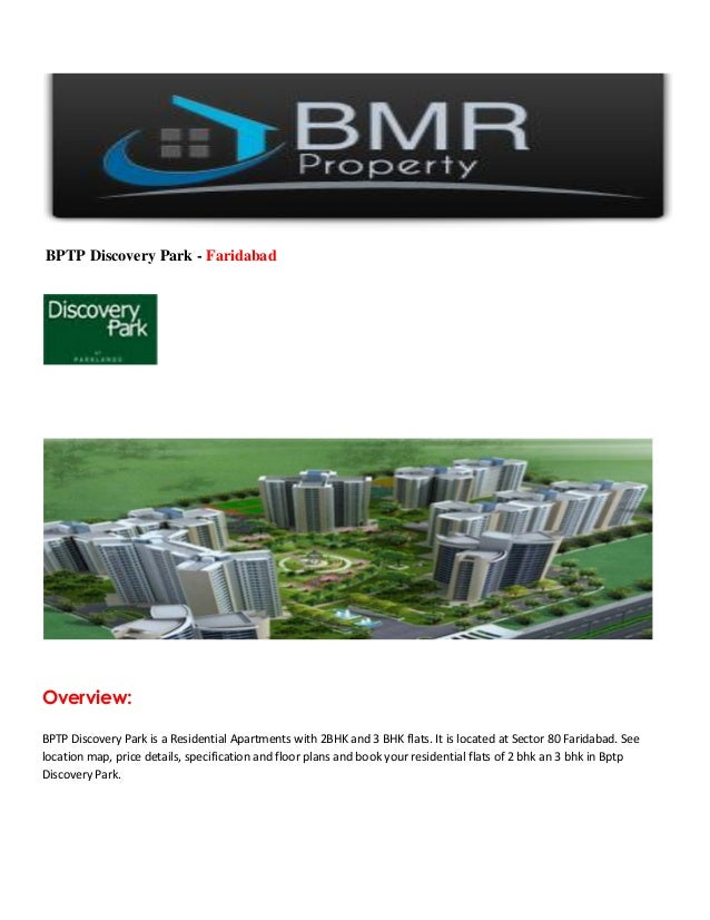 BPTP Discovery Park - FaridabadOverview:BPTP Discovery Park is a Residential Apartments with 2BHK and 3 BHK flats. It is l...