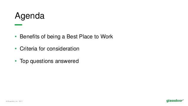 Revealed: Best Places to Work Winner Criteria  Slide 2