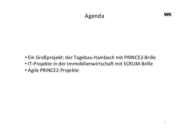 PRINCE2® und agile Methoden in Kombination – ein Erfolgsmodell für die Praxis? Slide 2