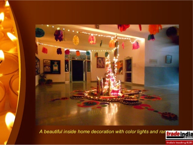 Diwali decorative lights manufacturers for Simple diwali home decorations