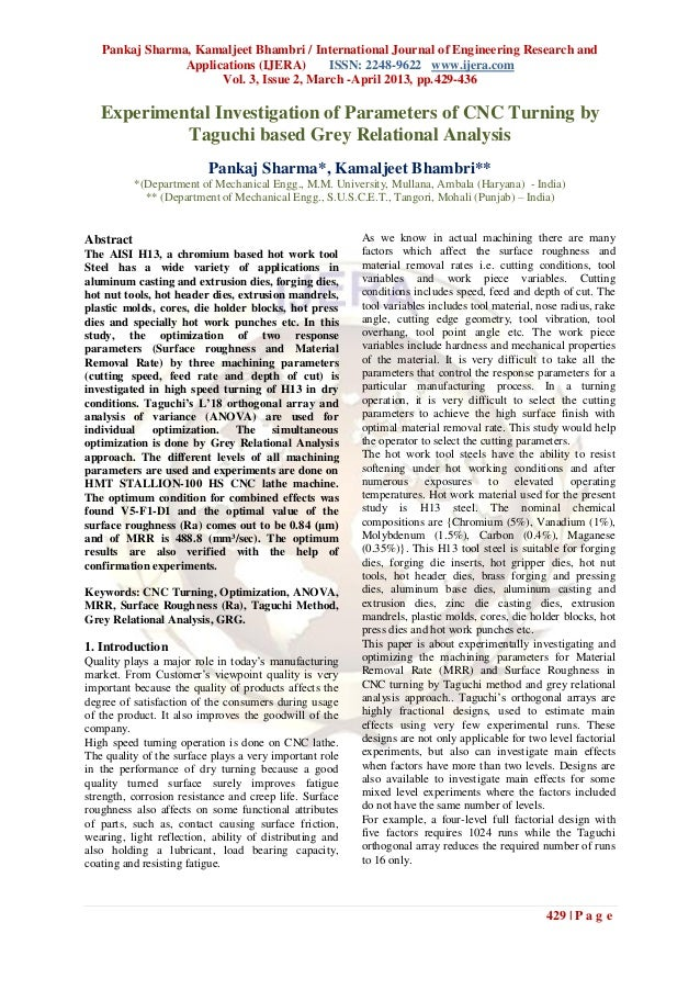 Pankaj Sharma, Kamaljeet Bhambri / International Journal of Engineering Research and                Applications (IJERA)  ...