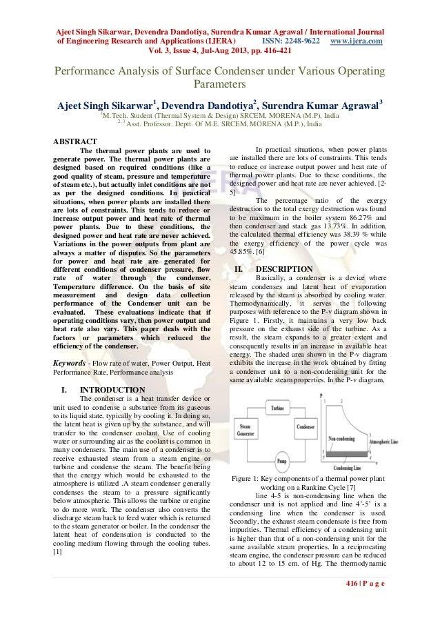 Ajeet Singh Sikarwar, Devendra Dandotiya, Surendra Kumar Agrawal / International Journal of Engineering Research and Appli...