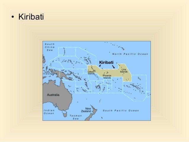 General Quiz - Kiribati map quiz