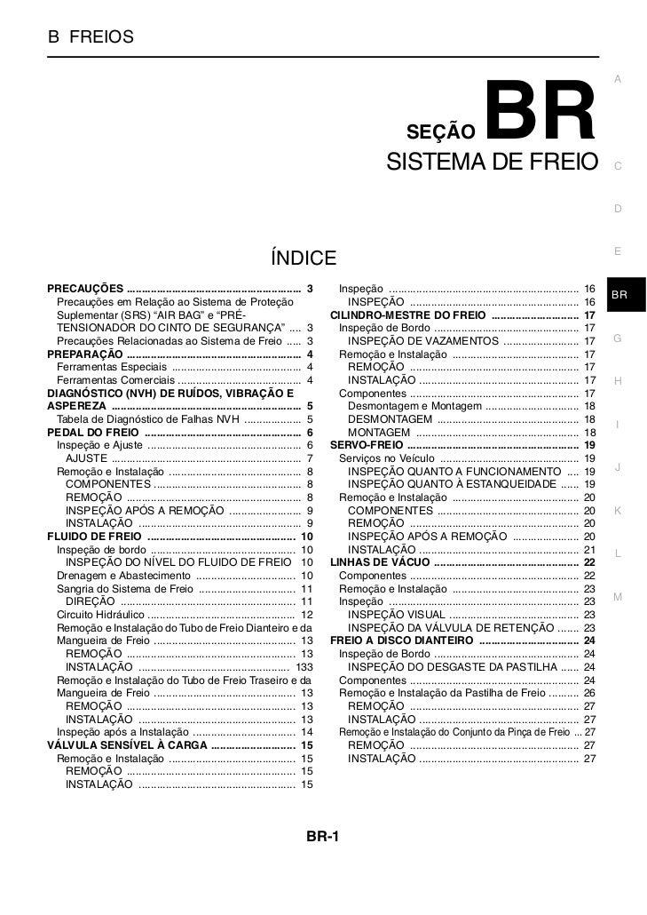SISTEMA DE FREIOB FREIOS                                                                                                  ...